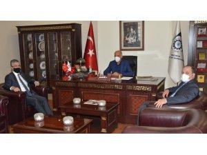 MHP Genel Başkan Yardımcısı Aydın'dan ETSO'ya ziyaret