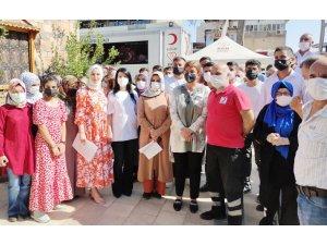AK Parti İl Sosyal Politikalar Başkanlığı kan bağışında bulundu