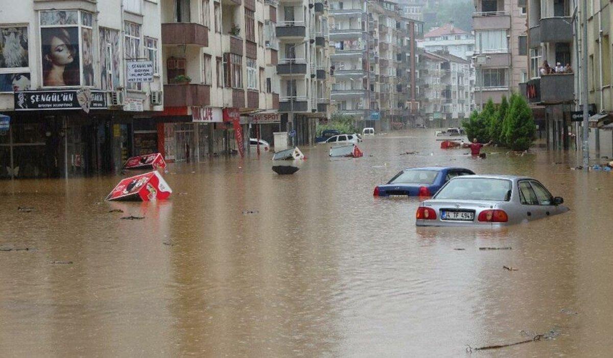 Düzce, Rize ve Artvin'de bazı bölgeler 'afet bölgesi' ilan edildi