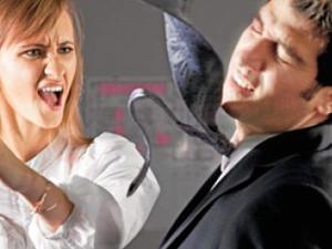 Kocasını döven kadına uzaklaştırma cezası!