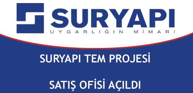 Sur Yapı Tem Projesi satış ofisi açıldı