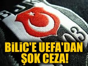 UEFA'dan Bilic'e şok ceza!