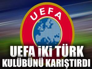 UEFA, Beşiktaş ve Trabzonspor'u karıştırdı