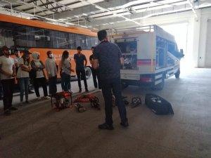 Diyarbakır AFAD gönüllülerinin afetlere hazırlıklarını sürdürüyor