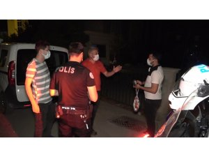 """Karantinayı ihlal etti, """"HES kodu"""" ele verdi: Polis caddede dolaşırken yakaladı"""