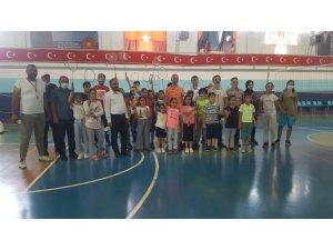 Yahyalı'da GSB Spor Okullarına büyük ilgi