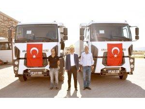 Araban Belediyesi'nin araç filosu genişletiyor