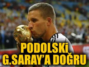 """""""Podolski, Türkiye'ye gidiyor"""""""