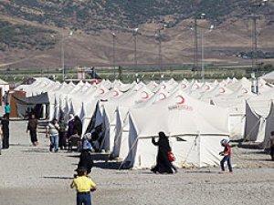 Suriyelilere hazırlanan kamplarda Iraklılar kalıyor!