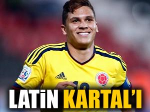 Beşiktaş'a latin kartalı!