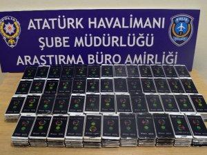 750 kaçak cep telefonu yakalandı!