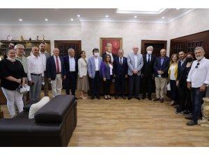 Başkan Kurt, CHP'li heyeti ağırladı