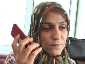 Cumhurbaşkanı Erdoğan, oğlu teslim olan Ayşegül Biçer ile telefonda görüştü