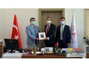 BİK'ten Eskişehir İl Sağlık Müdürlüğü'ne ziyaret