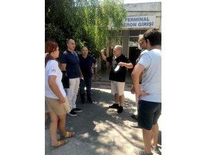 Başkan Günel ve ekibi mahalle ziyaretlerini sürdürüyor