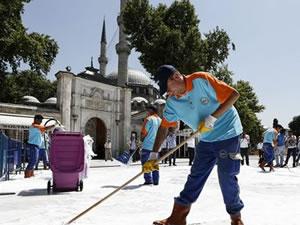 Eyüp Sultan'da Gazze Yardım Sokağı kuruluyor