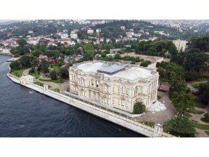 Beylerbeyi Sarayı'nda ziyarete açılan 113 metrelik rıhtım havadan görüntülendi