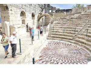 Kibyra Antik Kenti'ni bayramda 3 bin 500 kişi ziyaret etti