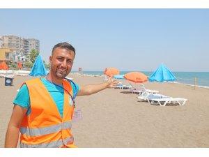Mezitli Belediyesinden 'Aile Plajı'