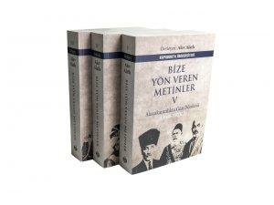 'Bize Yön Veren Metinler' üçüncü, dördüncü ve beşinci ciltleri yayımlandı