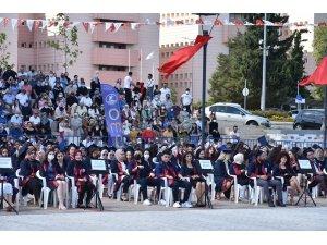 OMÜ Fen Edebiyat Fakültesi'nde mezuniyet heyecanı