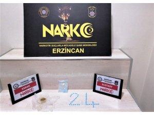 Erzincan'da uyuşturucu operasyonu: 8 kişi gözaltına alındı