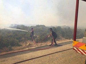 Aydın Büyükşehir Belediyesi gün boyu yangınlarla mücadele etti