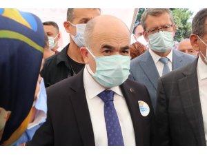 """Vali Dağlı: """"Samsun'da 3 binin üzerinde vatandaşımızı Covid'den kaybettik"""""""