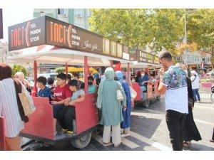 Öğrencilerden trenle Çınarcık turu