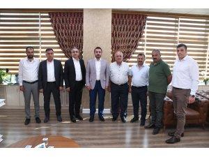 İMSİAD'dan Başkan Önder Tanır'a istişare ziyareti