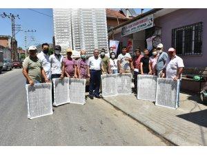 İncir üreticilerine 12 bin adet incir kurutma kereveti dağıtıldı