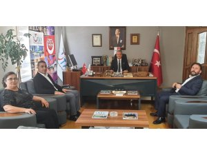 TUTAP'tan TSO Meclis Başkanı Ünal'a Turizm Elçisi Beratı