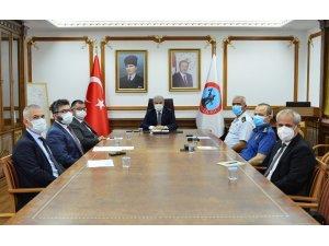 Kırşehir'de Salgın Değerlendirme Toplantısı yapıldı