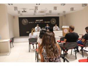 Ali İhsan Kabakcı, TOHM birimleri ile toplantı yaptı