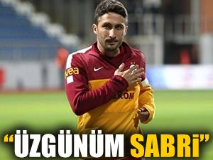 Sabri'ye kötü haber!