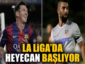 La Liga'da heyecan başlıyor!