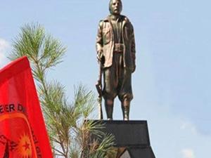 PKK'dan akıllara durgunluk veren heykel açıklaması! FLAŞ!