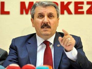 Destici: Davutoğlu ülkeyi derhal seçime götürmeli!