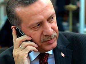Erdoğan'dan sürpriz telefon görüşmesi