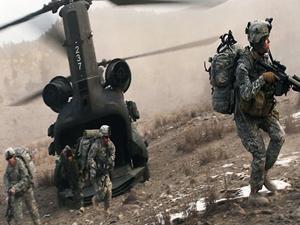 ABD'li askerler IŞİD militanlarını görünce bölgeden kaçtılar!