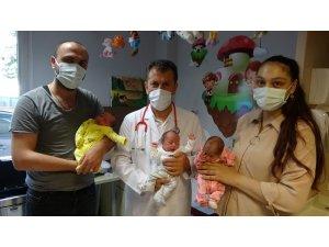 İşsiz babaya üçüz bebek sürprizi