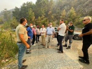 """BBP Genel Başkanı Destici: """"Yangınların sebebi ve kaynağı konusunda aslında hiçbir tereddüdümüz yok"""""""