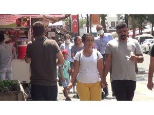 Aşı sıralamasında son 10'da yer alan Diyarbakır'da tedbirler hiçe sayıldı