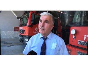 İtfaiye Başkanı Acar, vatandaşları yangınlara karşı uyardı