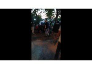 Otoparka dalan minibüs 5 arabaya çarptı: 8 yaralı