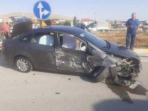 Aslanapa'da trafik kazası: 1 yaralı