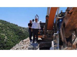 """Başkan Üçok: """"Suluova'mıza Ferhat gibi su getiriyoruz"""""""