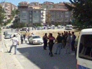 Ankara'da silahlı saldırı: 1ölü, 3'ü polis 4 yaralı