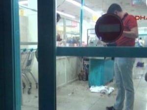 Şırnak'ta markete molotof atıldı: 1 çocuk yaralı!