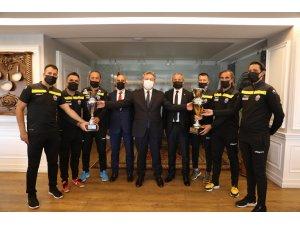 Kayseri Masterler Spor Kulübü'nden Başkan Palancıoğlu'na ziyaret